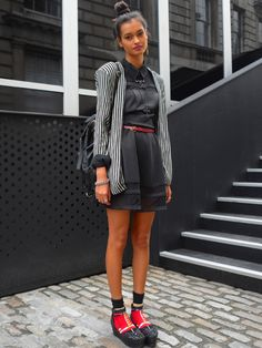 that would be #MalaikaFirth looking bonkers cool #offduty in London. #YvanRodic
