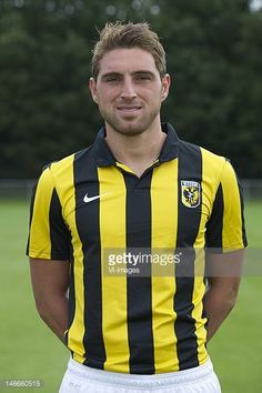 Guram Kashia of Vitesse during the Photo Call of Vitesse Arnhem at the Gelredome on July 16 2012 in Arnhem The Netherlands Motorcycle Jacket, Stock Photos, Jackets, Pictures, Fashion, Holland, Down Jackets, Photos, Moda
