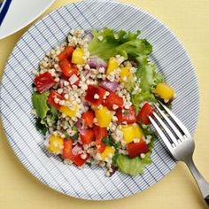 Tropical Buckwheat Salad | MyRecipes.com #myplate #vegetables