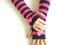Fingerless Gloves-Womens Arm Warmers Women's by GoToBoutique