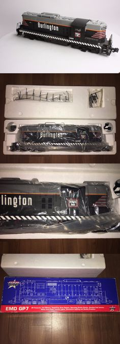 Locomotives 122576: Usa Trains G Scale Burlington Emd Gp7 Diesel Locomotive #R22101 Brand New -> BUY IT NOW ONLY: $250 on eBay!