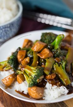 Easy 20-Minute Teriyaki Chicken and Broccoli - Table for Two