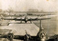 303rd Bomb Wing ready to fly - RAF Molesworth, England -  WW2