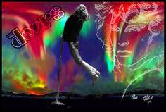 Jim Morrison of THE DOORS  Photoartist LisaKay Allen/PassionFeast