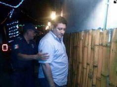 La detención del exalcalde Emmanuel Nivón González. Foto: Especial