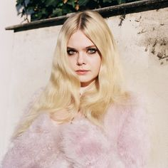 Elle Fanning in Vogue UK, June 2014.