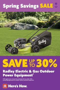 Spring Savings Sale, on now until April 21. Garage Tools, Spring