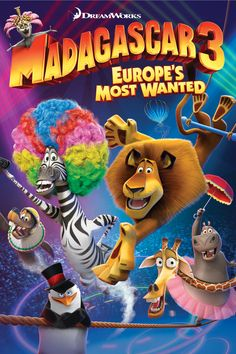 Madagascar 3: Europe's Most Wanted - Rotten Tomatoes - Alex the Lion, Marty the Zebra, Gloria the Hippo, and Melman the Giraffe are still fighting to get home to their beloved Big Apple and of course, King Julien, Maurice and the Penguins are all along for the comedic adventure. Their journey takes them through Europe where they find the perfect cover: a traveling circus, which they reinvent - Madagascar style. -- (C) Dreamworks