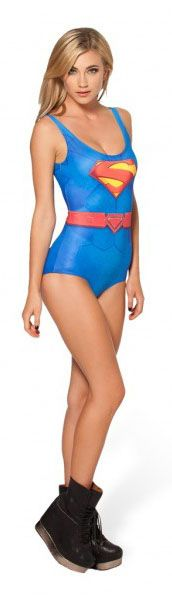 Cheap Black Milk Swimsuit Superman Swimsuit  $36.60
