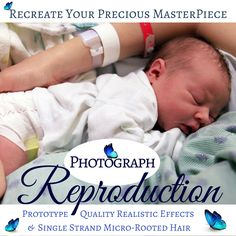 Now offering PHOTOGRAPH BABIES in my #etsy shop: Recreate your Precious Masterpiece with a Photograph Baby. Capture that first moment perfectly. Worldwide Shipping is included FREE. http://etsy.me/2CmFPVF #toys #reborn #doll #customdoll #bonniebr