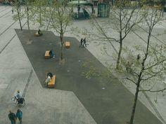 Van Heekplein Market Square by OKRA
