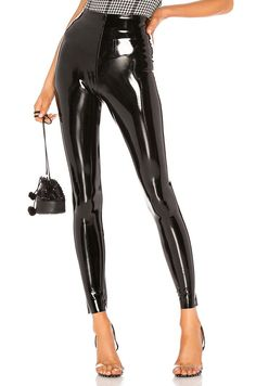 Commando Perfect Control Patent Leather Legging View 1 of 4 Gothic Leggings, Shiny Leggings, Women's Leggings, Leggings Are Not Pants, Cheap Leggings, Leggings Store, Printed Leggings, Patent Leather Leggings, Tight Leather Pants