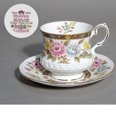 ROSINA QUEEN'S 81 pc. for 12 persons English Bone China Dinnerware set Cathay - CAD $2,400.00 | PicClick CA