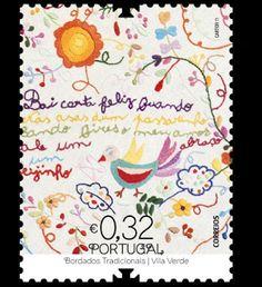 """Respire fundo! Está em Vila Verde!: Portugal: Correios divulgam """"Lenço de Namorados"""" de Vila Verde (Via C.M.V.V.)"""