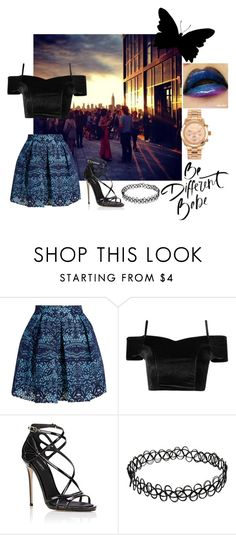 """""""Untitled #91"""" by modern-yet-elegant ❤ liked on Polyvore featuring Maje, Dolce&Gabbana and Michael Kors"""