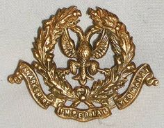 Yeomanry military badge