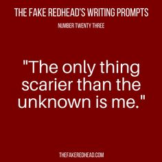 Sign Up For The Newsletter Prompt Library 101-200, 201-300 The complete library of the original writing prompts written byThe Fake Redhead Click To Claim The Free eBook feat. TFR's Most Pop…