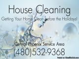 House Cleaner - House Cleaning - PHOENIX