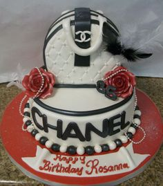 CHANEL PURSE CAKE  SHAPED CAKES THE Boulangerie cakepins.com