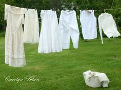 Aiken House & Gardens: Laundry Day!