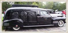 Flower Car | Vintage Funeral Cars at The Laurel Lions Club Car Show