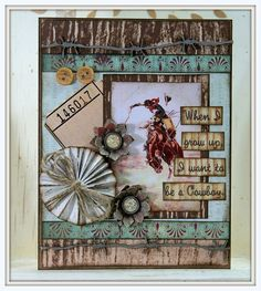 Time to Cowboy Up !!! by Polly's Paper, via Flickr