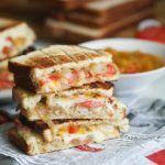 Braaibroodjie (South African Grilled Cheese Sandwich)-. Braai Sandwich.