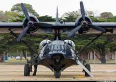Consolidated PBY-6A Catalina (28): VH-PBZ / A24-362/OX-V (cn 2043) On display of Centenary of Military Aviation Air Show Pt Cook 2014.