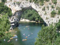 Vallon-Pont-d'Arc (07. Ardèche) - Pont-d'Arc