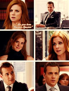 donna & harvey. {gif} #suits