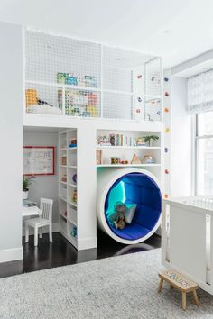 mit Kletterwand und Spielboden Toys, Kids & Baby -Spielzimmer mit Kletterwand und Spielboden Toys, Kids & Baby - Affordable Kids Bedroom Design Ideas That Suitable For Kids Loft Playroom, Playroom Design, Kids Room Design, Baby Playroom, Kids Playroom Furniture, Kids Bedroom Designs, Boys Playroom Ideas, Playroom Paint Colors, Kids Playroom Storage