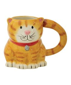 Another great find on #zulily! 14-Oz. Cat Mug by Boston Warehouse #zulilyfinds