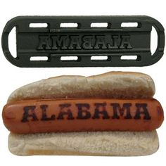 Hot dog grill - WOW, I just thought I had seen all things Bama!!