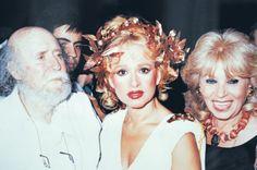 Με τον Γιάννη Τσαρούχη και την Αλίκη Βουγιουκλάκη