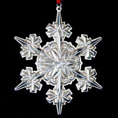 2005 Gorham Snowflake Sterling Ornament
