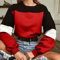 Women's Clothing New Style Fashion Womens Female Tracksuit Sweatshirt Long Sleeve Sweatshirt Rose Print Causal Tops Blouse Autumn For Women #15 Profit Small