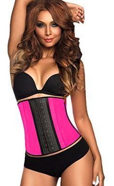 0105f22b9fc65 Dilanni Women s Breathable Elastic Waist Trainer Cincher XS to 6XL Lace  Shapewear Steel Boned Corset  Amazon.de  Bekleidung