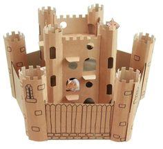Smartkitz Cardboard Pet Castle and Bailey - Small #EnvirosmartProductsLtd
