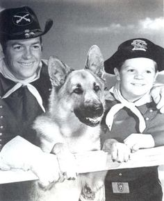 "The Adventures of Rin Tin Tin.....""yo rinny""Starring Lee Aaker, James Brown, Rin Tin Tin II.ABC Tv Series Oct.1954-May 1959"