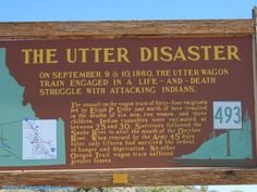 The Utter Disaster - found in a motel parking lot in Farewell Bend, OR
