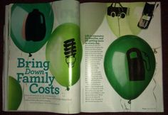Money in a Magazine-be careful and use with older kids b/c the money could be difficult to find!