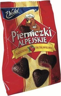 Pierniczki Alpejskie, E. Wedel Warsaw, Poland, owned by Lotte group of South Korea and Japan, Shinjuku, Tokyo, Japan and Jung District, Seoul, South Korea.