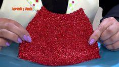 Aprenda y Venda - Cuadro patinadores papá y mamá noel en 3D Dollar Stores, Quilts, Make It Yourself, Gnome, Blog, Diy, Angeles, Christmas Ornaments, Holiday Ornaments