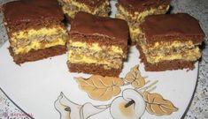 Prajitura care a innebunit planeta! Romanian Desserts, Romanian Food, Potluck Desserts, Delicious Desserts, Pastry Recipes, Cookie Recipes, Focaccia Bread Recipe, Different Cakes, Food Cakes
