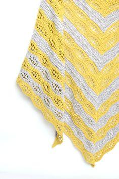 Kalinda Shawl – free crochet pattern at My Crochetory.