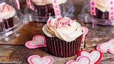 Ad- This is a sponsored conversation written by me on behalf of Pillsbury™. The opinions and text are all mine Keep the day of love all about giving with these easy Valentine's Day Cupcakes. Your kids Valentine Day Cupcakes, Valentines Food, Julie Clark, A Food, Conversation, Desserts, Easy, Recipes, Kids