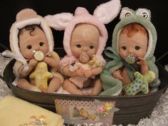 Maniquíes maniquí de chupetes Binky de miniatura para Mini Ooak polímero arcilla bebé arte muñecas coleccionables