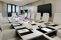 I spend my days in rooms like this. I run thangs.  The St. Regis Bal Harbour - Executive Boardroom