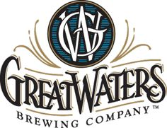 Great Waters Brewing Co. Typography Logo, Logos, Volkswagen Logo, Brewing Company, Buick Logo, Brewery, Minnesota, Graphic Design, April 26