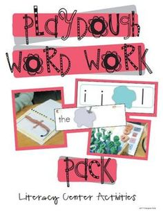 One of my favorite balanced literacy centers is our word work center. Are you a believer in students being able to manipulate (which kinders think ...
